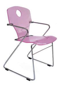 Acrylic Purple Chair