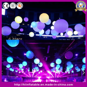 Ceiling Decoration LED Inflatable Colorful Ball, Inflatable Lighting Ball
