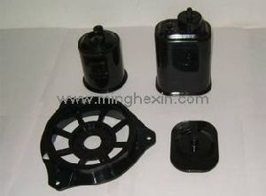 Black Plastic Injection Part with ISO SGS