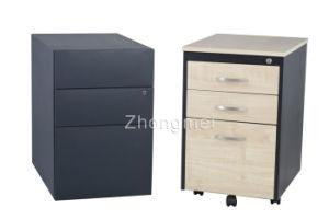 Mobile Pedestal File Cabinet (ML0406P3-A(left)+ZM04P3-A(Right))