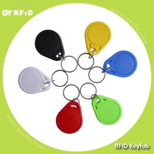 125kHz 13.56MHz Ntag203 Contactless ABS Proximity RFID Keyfob pictures & photos