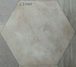 52X60cm Rustic Ceramic Six Corner Floor Tile pictures & photos
