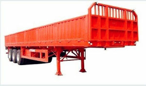 Cargo Truck Semi Trailer 40t Heavy Duty Truck