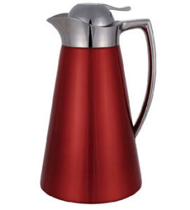 Stainless Steel Vacuum Coffee Pot with Glass Refill pictures & photos