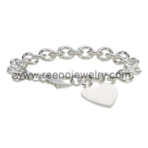 Best Gift for Valentine′s Day 925 Silver Bracelet with Lower MOQ, Fashion Jewelry Accessary