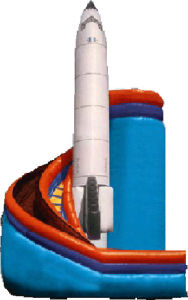 Inflatable Rock Slide (LILYTOYS-SL-06JO)
