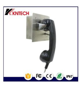 PC ABS Industrial Telephone Handset Phone Receiver Squared Handset T1 pictures & photos