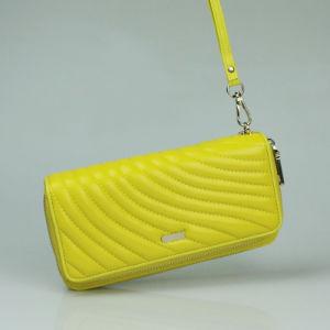 Women Fashion Cow Skin Designer Wallets Genuine Leather Travel Wallet pictures & photos