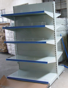 Supermarket Shelf With Back Plane Board (RENFA-S-02)