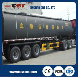 3 Axle Asphalt Tanker Transport Trailer Truck for Sale pictures & photos
