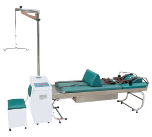 Traction Bed for Cervical Vertebra and Lumbar Vertebra Disease pictures & photos