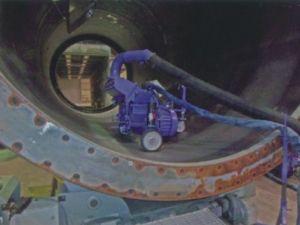Steel Tube Blasting Cleaning Machine