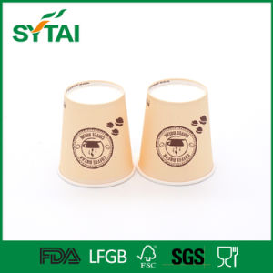 Factory Wholesale Logo Printed Single Wall Disposable Paper Coffee Cups pictures & photos