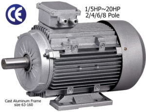 Alu Frame 3-Phase AC Motor (2.2kW/415V/50Hz/8 pole) pictures & photos