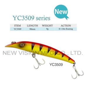 New Style High Quality Hard Plastic Minnow Fishing Lure pictures & photos