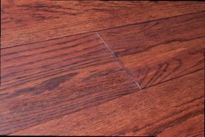 1180X150X15mm 3 Strips Handscraped Oak Engineered Wood Flooring Kentucky Bourbon Color (LYEW 17) pictures & photos