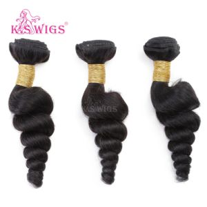 7A Grade 100% Natural Human Hair Brazilian Virgin Hair Weaving pictures & photos