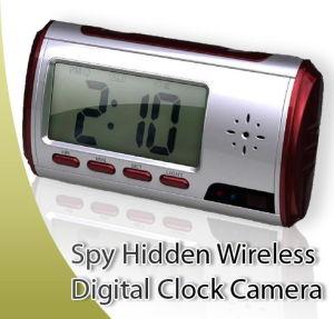 Multi-Function Alarm Clock With HD Camera Voice Recorder