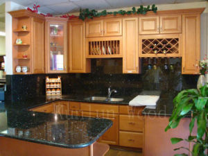Kitchen Cabinet Showroom (Sunset Beech)