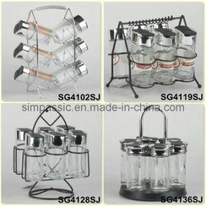 Spice Jar Set / Salt & Pepper Shaker / Cruet Set (SG4102SJ / SG4119SJ / SG4128SJ / SG4136SJ) pictures & photos