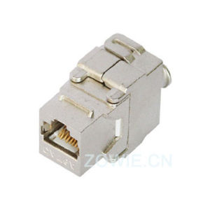 Tooless FTP Keystone Jack, Cat5e, Cat6