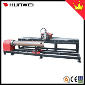 Xg-300j Economical Low Price Cheap CNC Plasma Flame Pipe Tube with Plate Cutting Machine Cutter pictures & photos