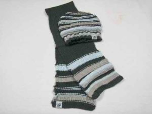 Knitted Cap & Scarf