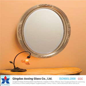 3 - 6mm Double Coated Clear Silver Mirror Glass for Home pictures & photos
