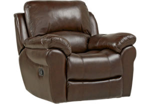 Living Room Genuine Leather Chair pictures & photos