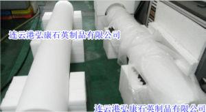 1000-2000 mm Long Large Caliber Milky White Quartz Tube pictures & photos