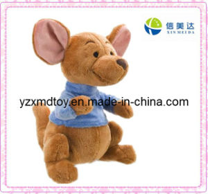 Plush Cute Kangaroo Toy with Clothes pictures & photos