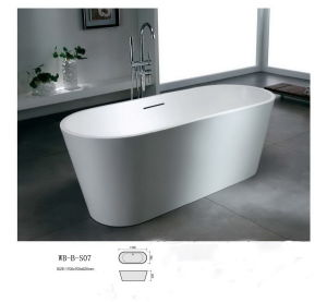 Artificial Stone Bathtub (WB-B-S07)