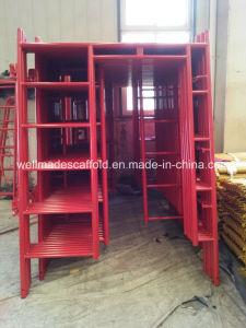 USA Scaffold Materials Walk Through (Thru) Ladder Frame Scaffolding pictures & photos