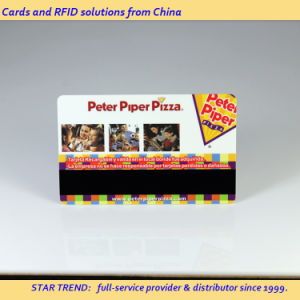 Four Color Cr80 Standard Card with Magnetic Stripe for Hair Salon pictures & photos
