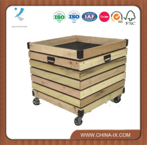 Customized Produce or Bakery Fixture Display Bin pictures & photos