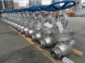 API Cast Steel Multilevel Sealing Class 600 Bw Globe Valve pictures & photos