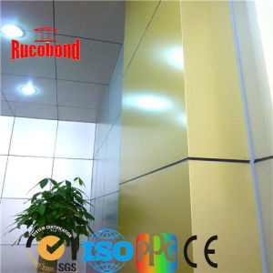 Champagne Color of PVDF Aluminum Composite Panel ACP/Acm (RCB2013-N10) pictures & photos