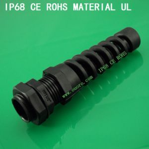Plastic Flex Spiral Cable Glands Series,Npt Type, Nylon6, Waterproof, Dustproof, IP68, CE, RoHS