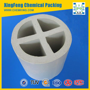 Chemical Packing Ceramic Cross Partition Ring for Drying, Cooling Tower pictures & photos
