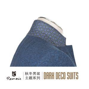 OEM Classic Fit Notch Lapel Wool Men′s Blazer pictures & photos