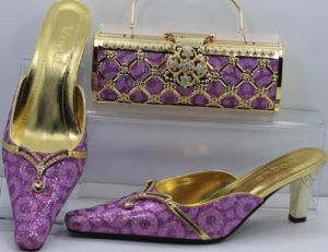 Lady Shoes and Matching Bag