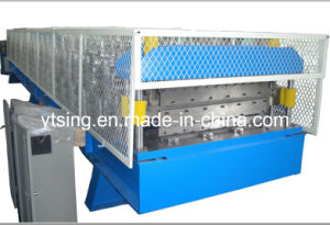 15kw Hydraulic Automatic Cutting Double Layer Roof Roll Forming Machine (YD-1012)