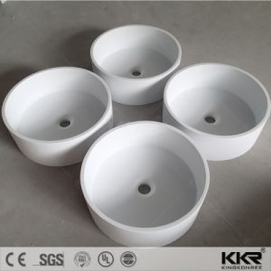Artificial Stone Solid Surface Bathroom Above Counter Washing Basin pictures & photos