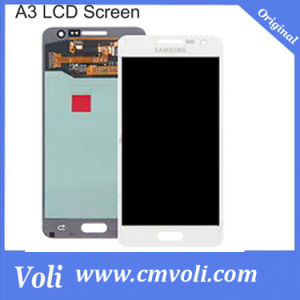 Wholesale 100% Original for Samsung Galaxy A3 LCD Display Touch Screen Digitizer A3000 Screen White pictures & photos