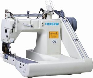 Double Needle Feed-off-The-Arm Sewing Machine (with Internal Puller) pictures & photos
