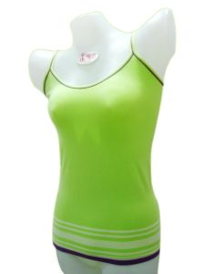 Ladies Seamless Stripe Camisole