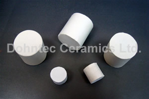 25mm Ceramic Cylinder as Catalyst Bed Support