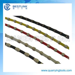 Diamond Wire Saw Rope for Granite Block Squaring pictures & photos