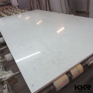 Pure White 20mm and 30mm Quartz Stone pictures & photos