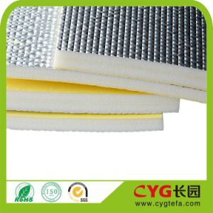 HVAC Thermal Insulation PE Foam Insulation with Aluminum Facing pictures & photos